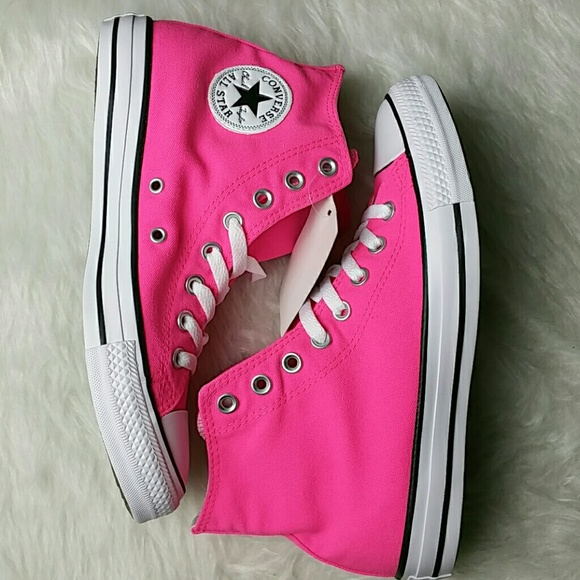 f6188b1ad93203 Converse Chuck Taylor All Star Hi Neon Sneaker